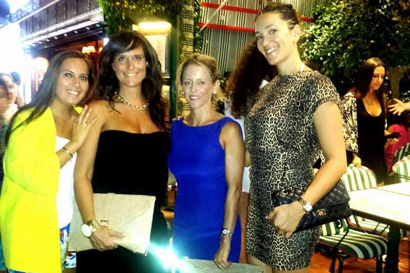 Summer dinner with dentists and team. German Dentist Clinic Marbella, San Pedro