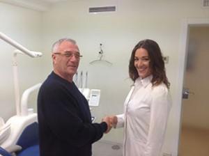 Patient Review. Doctor Nadine Hotz German Dentist Marbella, San Pedro